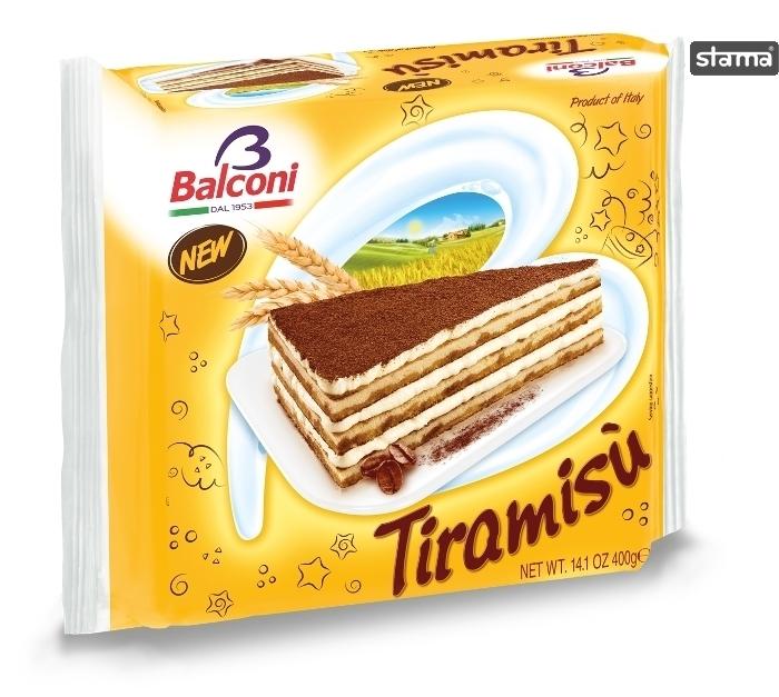 CAKE BALCONI TIRAMISU 400g Stama Co Ltd