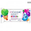 CLEANICJUNIORREFRESHINGWETWIPES15pcs