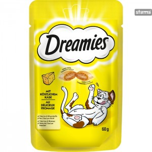 DREAMIESCATTREATSWITHCHEESE60g