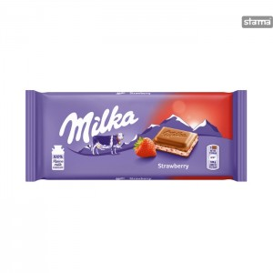 MILKASTRAWBERRY100g