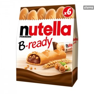 NUTELLAB-READY6pcs132g