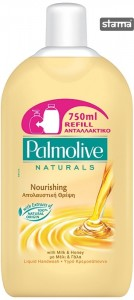 PALMOLIVELIQUIDSOAPREFILLMILKANDHONEY750ml