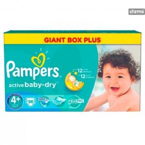 PAMPERSMICROBMAXIPLUS96pcs