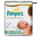 PAMPERSPREMIUMCAREVALUEPACKMINI72pcs