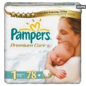 PAMPERSPREMIUMCAREVALUEPACKNEWBORN78pcs