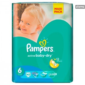 PAMPERSVALUEPACKPLUSXL42pcs