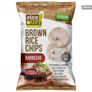 RICECHIPSRICEUPBARBECUE60g