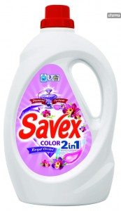 SAVEXLIQUID2in1COLORROYALORCHID3000ml