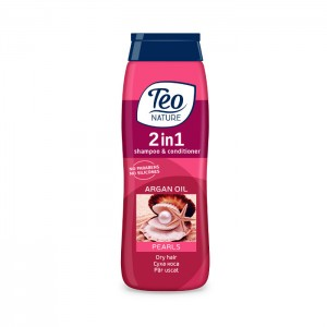 TEOSHAMPOOSEATREASURESPEARLS400ml