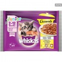 WHISKASPOUCHCASSEROLEJUNIORPOULTRYMEAT4x85g