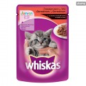 WHISKASPOUCHJUNIORBEEF100g