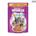 WHISKASPOUCHJUNIORCHICKEN100g