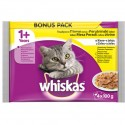 WHISKASPOUCHPOULTRYMEAT4x100g