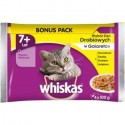 WHISKASPOUCHSENIORPOULTRYMEAT4x100g