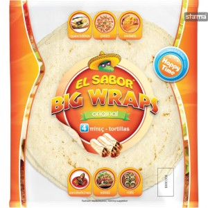 WRAPSELSABORORIGINAL25cm4pcs245g