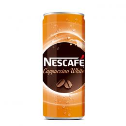 NESCAFE CAPPUCCINO WHITE CAN 250ml