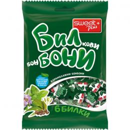 HARD HERBAL CANDIES BILBONI SIX HERBS 85g
