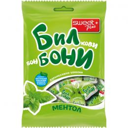 HARD HERBAL CANDIES BILBONI MENTHOL 85g