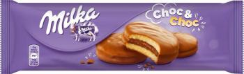 BISCUITS MILKA CHOC AND CHOC 150g