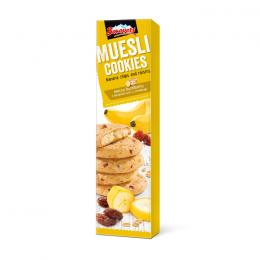 BISCUITS BOROVETS WITH BANANA CHIPS AND RASINS 110g