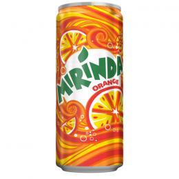 CARBONATED DRINK MIRINDA ORANGE CAN 330ml