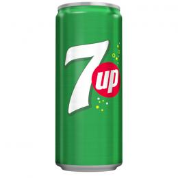 CARBONATED DRINK SEVEN UP CAN 330ml