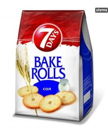 BAKE ROLLS 7 DAYS NATURAL 80g + 40% GRATIS