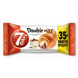 CROISSANT 7 DAYS DOUBLE COCOA AND VANILLA 80g + 35% GRATIS