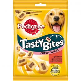 PEDIGREE TASTY BITES CHEWY SLICES BEEF 155g