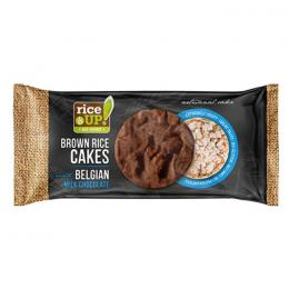 RICE CAKES RICE UP BELGIAN MILK CHOCOLATE 90g