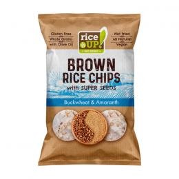 RICE CHIPS RICE UP SUPER SEEDS – BUCKWHEAT AND AMARANTH 60g