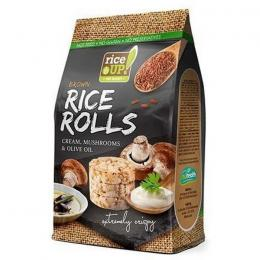 RICE ROLLS RICE UP SOUR CREAM AND MUSHROOMS 50g