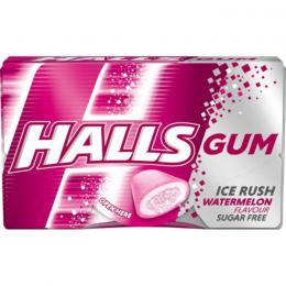 CHEWING GUM HALLS WATERMELON 18g